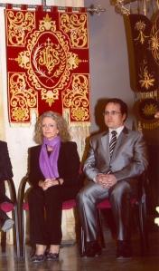 ENCARNACION NAHARRO EN EL PREGON DE LA SEMANA SANTA 2009
