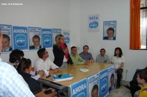 MARIA DEL MAR BLANCO EN OTRO MOMENTO DE SU INTERVENCION